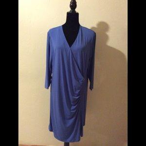 Calvin Klein Lapis color Dress size 1x